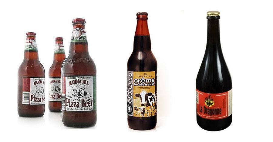 Cervezas con sabor