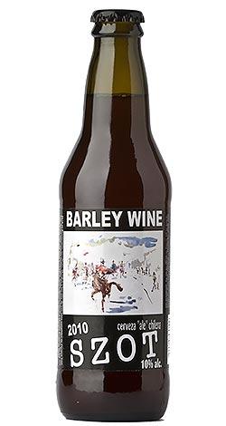Cerveza Szot Barley Wine 2010