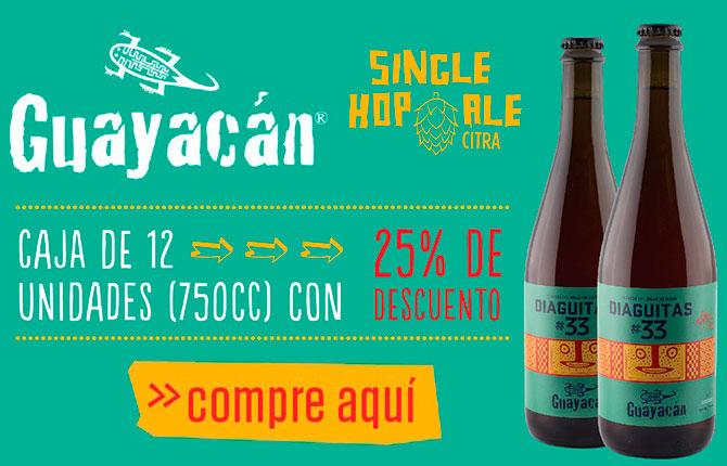 Cerveza Guayacán Diaguitas 33