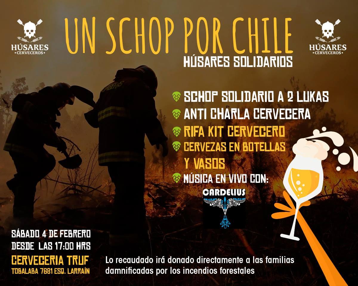 Un schop por Chile