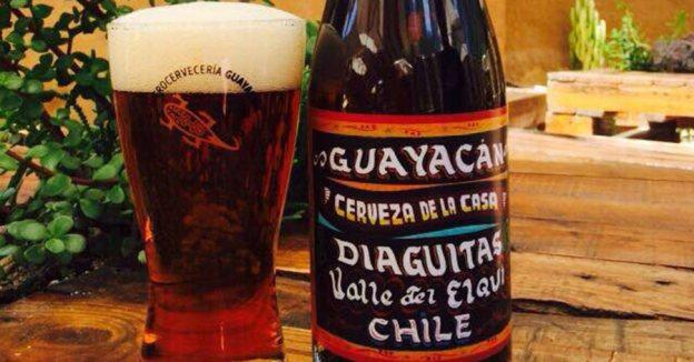 Guayacán Cerveza de la Casa gruit toronjil