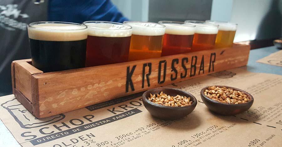 Cervezas experimentales Kross Bar