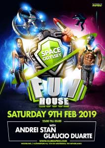 FunHouse – Space Odyssey Gay Circuit Party Amsterdam