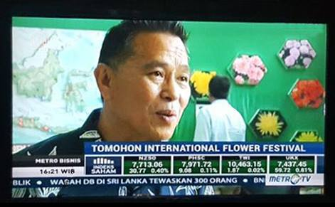 MetroTV bersama Walikota Tomohon TIFF 2017