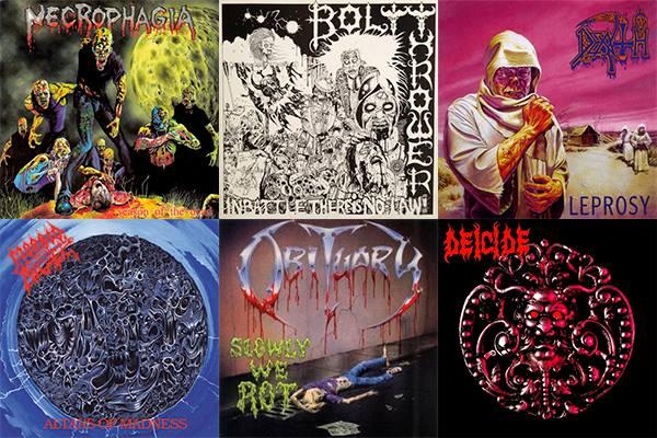 1985 - 1991: Le Origini del Death Metal. 20 Dischi Fondamentali