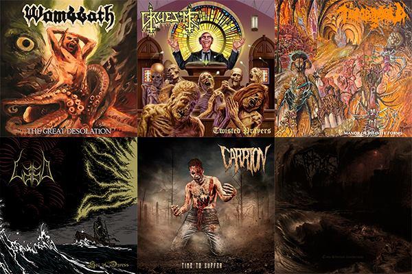 L'Angolo Della Morte: Le 10 uscite Death Metal più significative di Giugno 2018