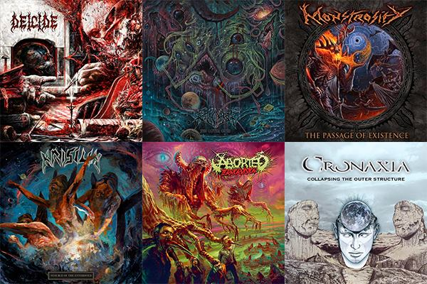 L'Angolo Della Morte: Le 10 uscite Death Metal più significative di Settembre 2018