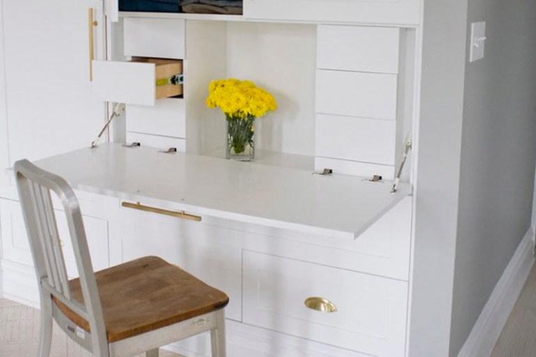 Design Idea #4 - Fold-Down Desk