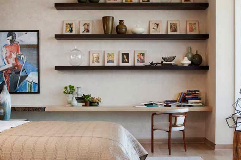 Master Bedroom Ideas And Designs #5 U2013 Shelves On The Perimeter