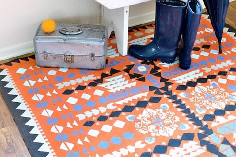 DIY Room Decor Tip #3 - Add A Rug