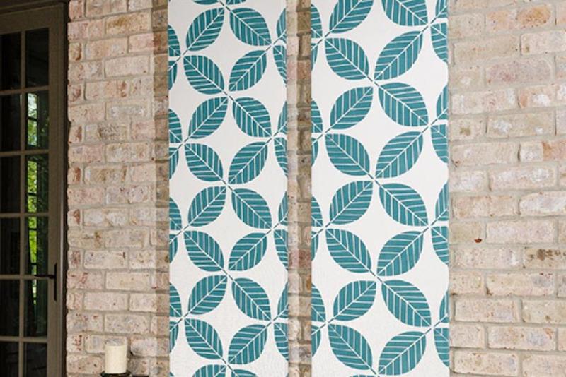 DIY Room Decor Tip #6   Fabric Wall Art