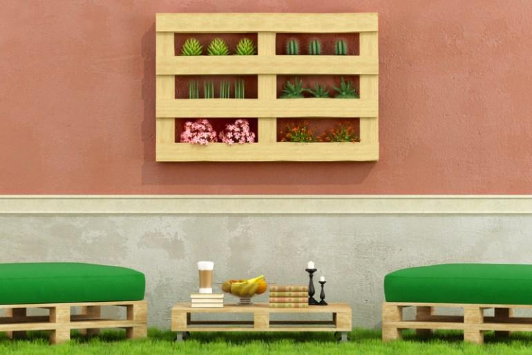 Alternate DIY Pallet Patio Furniture