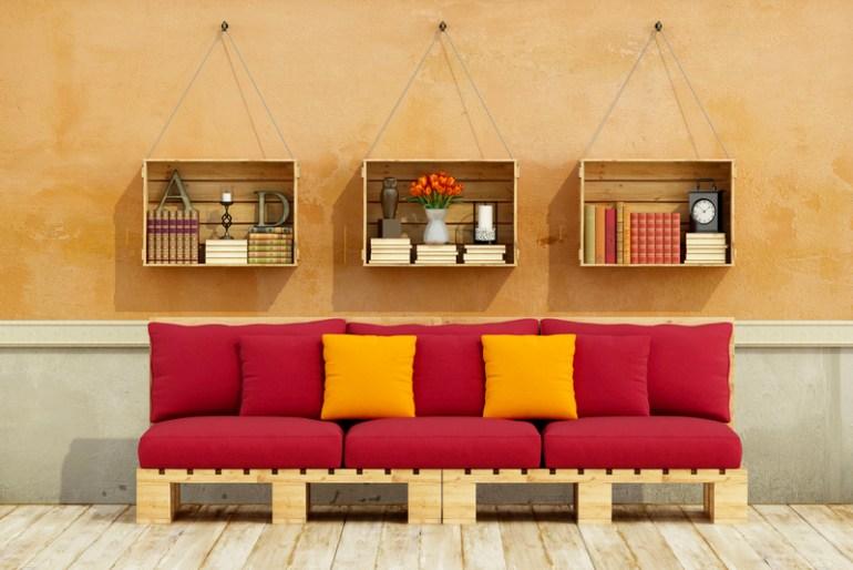 Easy DIY Pallet Patio Furniture