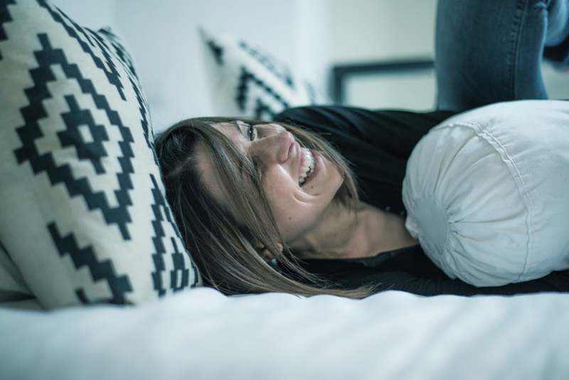 Pillow talk feeling comfortable talking sex your partner