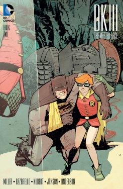 Dark Knight III #2 variante por Cliff Chiang