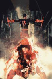 Daredevil #6 portada de Bill Sienkiewicz