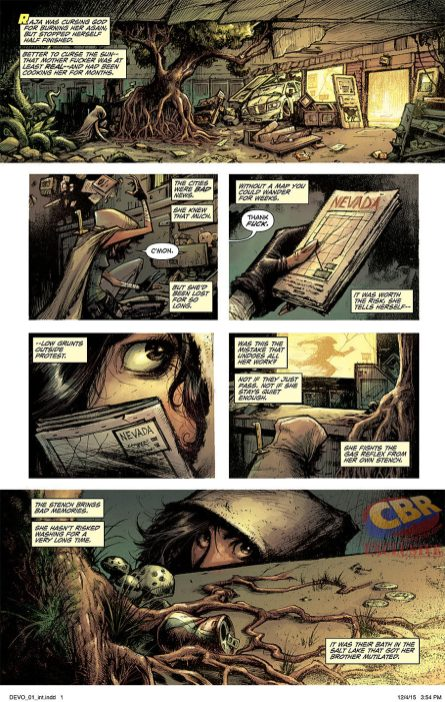 Devolution #1 pg 1