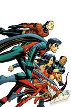 Titans Hunt # 7 por John Romita Jr. y Scott Hanna