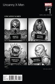 UNCANNY X MEN variant 1