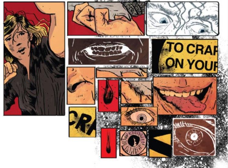 Change Ales Kot collage