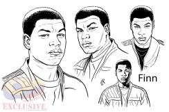 Finn, por Luke Ross
