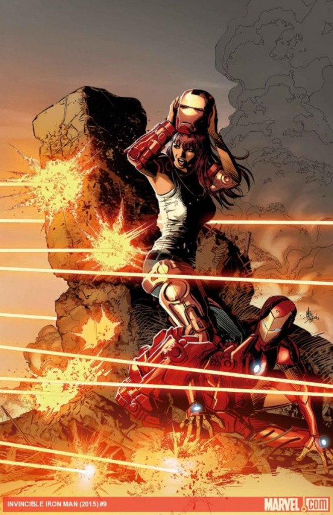 Invencible Iron Man #9