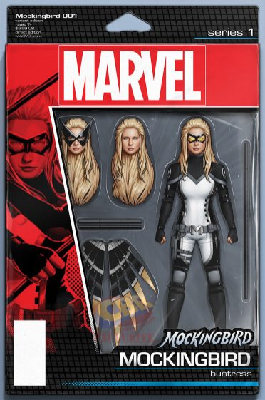 Mockingbird #1 action figure variant de John Tyler Christopher
