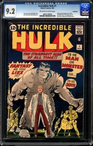 'The Incredible Hulk' #1