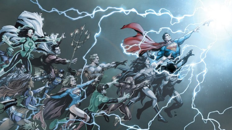 DC REBIRTH ONE SHOT PORT