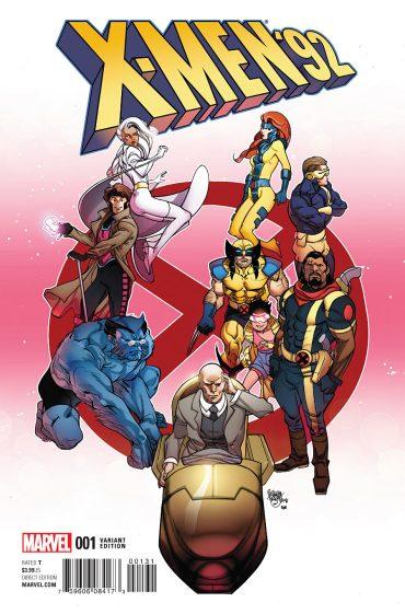 X-Men 92 cover b