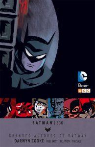RESEÑA Grandes autores de Batman: Darwyn Cooke. Batman Ego