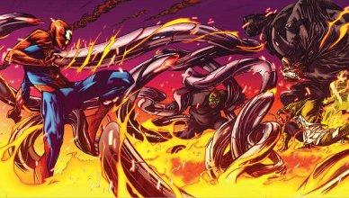 Dead No More, dibujada por Jim Cheung