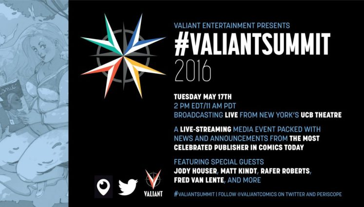 #VALIANTSUMMIT 2016