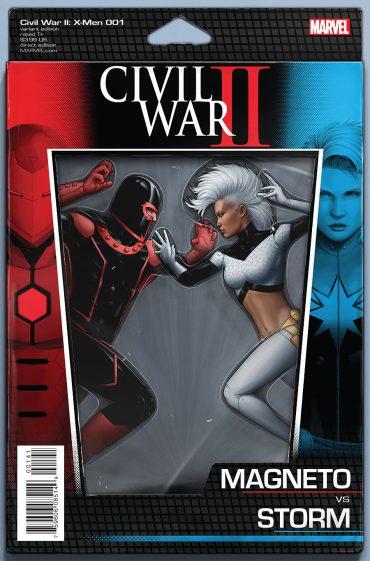 Civil War: X men variant 3