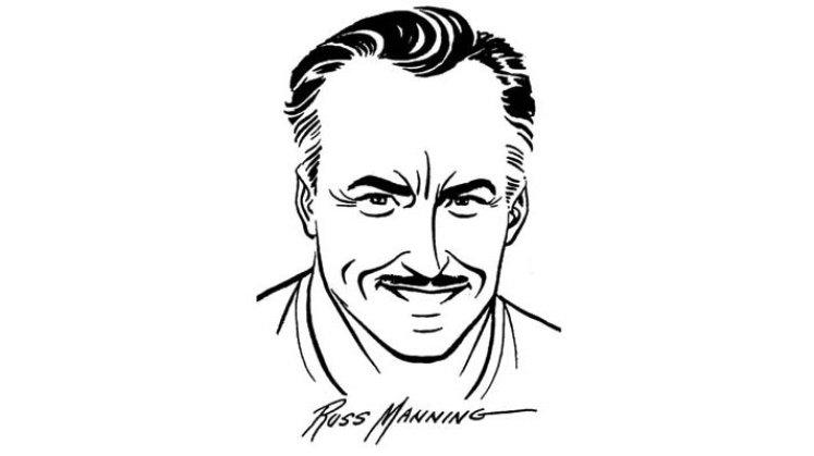 Russ_Manning_self-Portrait