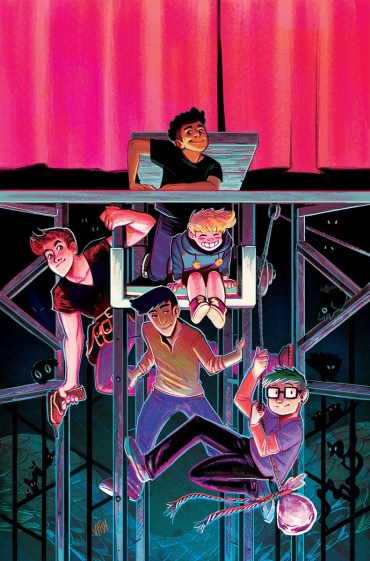 THE BACKSTAGERS#1 (of 8)