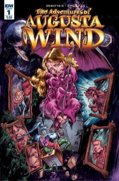 The Adventures of Augusta Wind Vol. 2 The Last Story #1