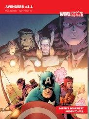 Avengers # 1.1