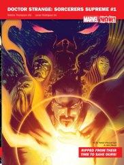 Dr Strange :sorcerers supreme #1