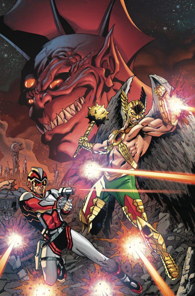 Hawkman y Adam Strange