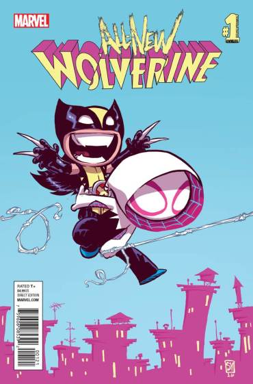 All-New Wolverine Annual #1 variant Young