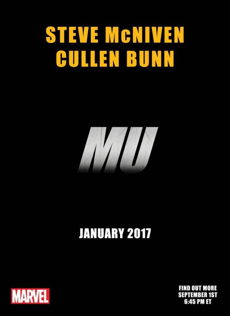 MU-Marvel-Comics Cullen Bunn y Steve McNiven