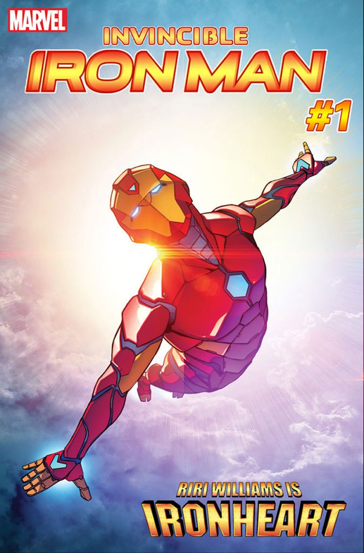 Ironheart Riri Williams
