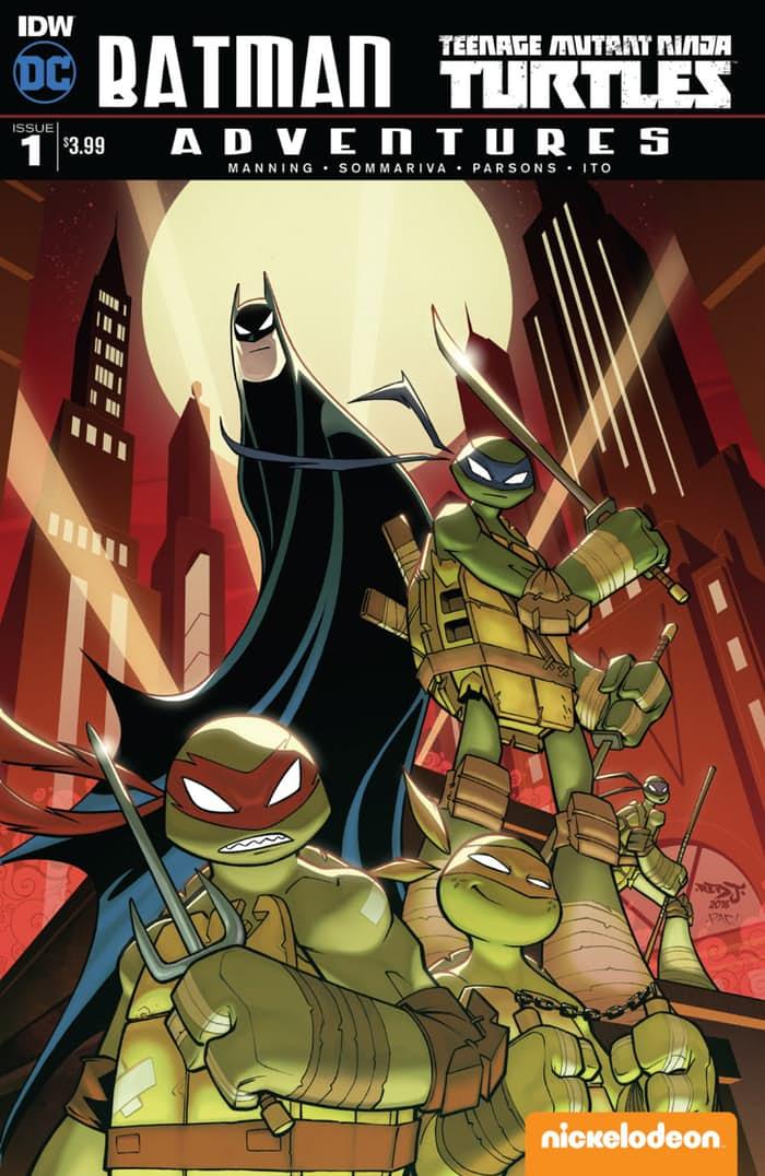 Batman / TMNT Adventures #1