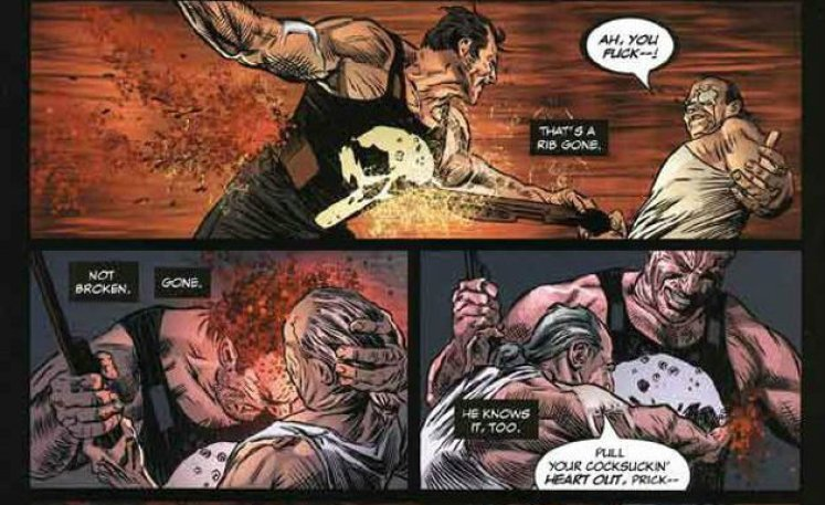 Marvel Saga: El Castigador#2. En el principio, de Garth Ennis y Lewis Larrosa