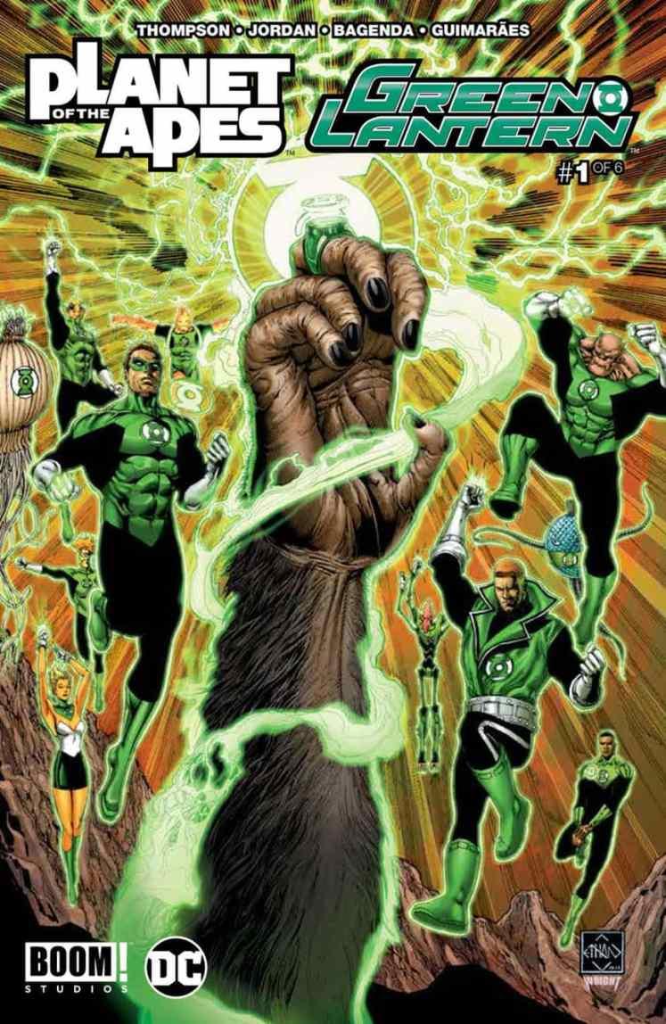 Planet Apes/Green Lantern #1