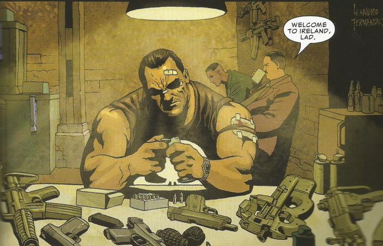 Marvel Saga: El Castigador #3. Cocina Irlandesa