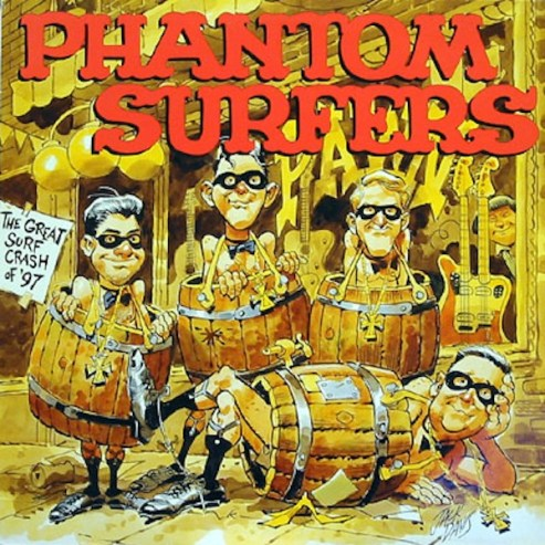 Jack Davis PHANTOM SURFERS