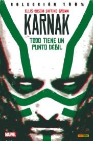 RESEÑA Karnak , de Warren Ellis