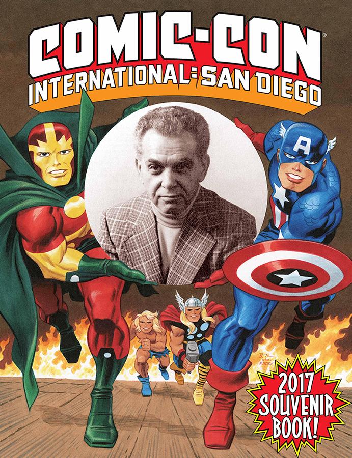 NOTICIA Gran homenaje de Bruce Timm a Jack Kirby en el SDCC
